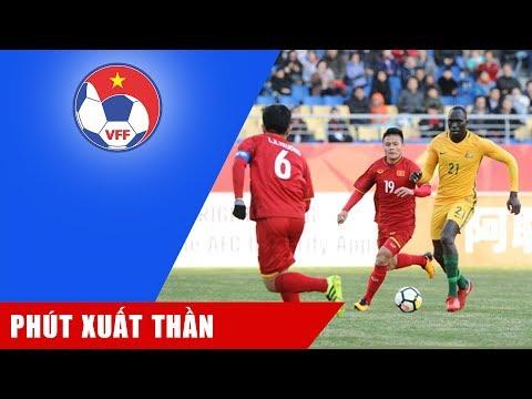 Chiêm ngưỡng bàn thắng bằng vàng của Quang Hải giúp U23 Việt Nam hạ gục U23 Australia