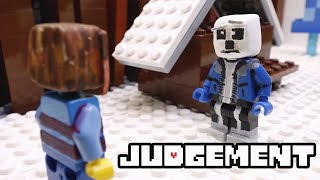 Lego Undertale - Judgement Animation