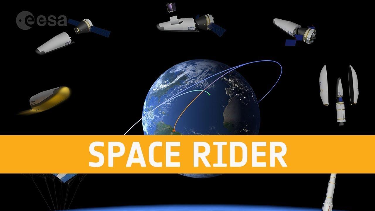 #видео | Как будет взлетать и садиться космический грузовик Space Rider?