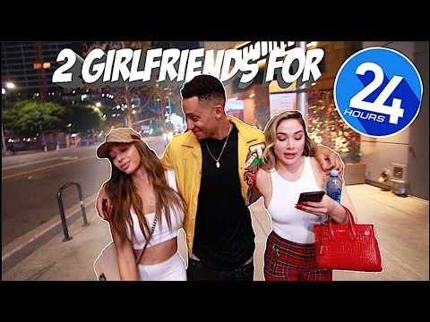 2 GIRLFRIENDS FOR 24 HOURS CHALLENGE! *THEY WANT TO DATE NOW*
