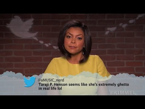 Mean Tweets: Movie Edition -- Seth Rogen, George Clooney, Taraji P Henson