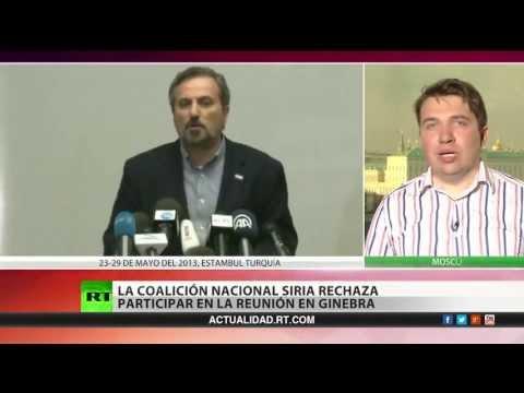 La oposición siria no participará en la conferencia de paz convocada por Rusia y EE.UU.