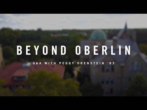 Beyond Oberlin: Peggy Orenstein '83