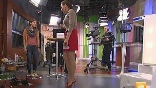 Adriana Polakova Beautiful Slovakian Tv Presenter 26.01.2012