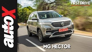 MG Hector Review | First Drive | autoX