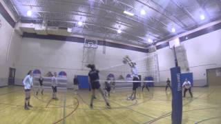 Palouse Volleyball a January short