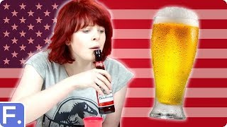 Irish People Try American Beers