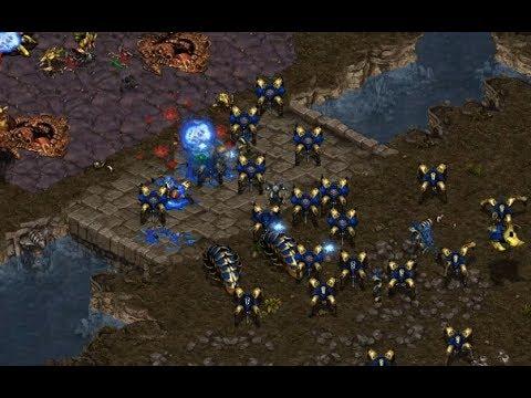 sAviOr (Z) v Shuttle (P) on Fighting Spirit - StarCraft  - Brood War REMASTERED