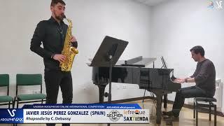 Javier Jesús PEREZ GONZALEZ plays C. Debussy #adolphesax