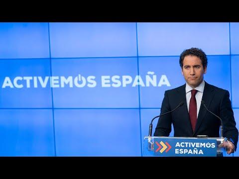 """García Egea exige al """"Gobierno del confinamiento perpetuo"""" que habilite las Cortes en julio y agosto"""