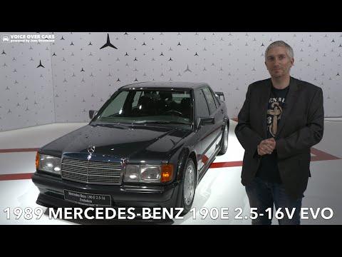 1989 Mercedes Benz 190E 2.5-16V EVO vs. Mercedes-Benz C-Klasse mit Plug- in-Hybrid   Voice over Cars
