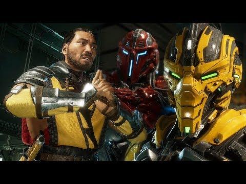 Смотреть онлайн видео MORTAL KOMBAT 11 - Scorpion vs Cyrax ...