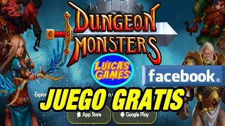 Dungeon Monsters Rpg Juego Gratis Android Ios Pc Y Facebook