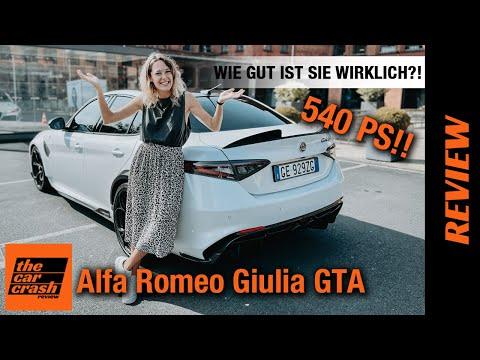 Alfa Romeo Giulia GTA (2021) Wie gut ist sie wirklich?! 🤷🏼♀️ Fahrbericht   Review   Test   Sound