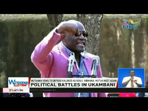 Muthama vows to defend Kalonzo as Ngilu, Kibwana, and Mutua meet again