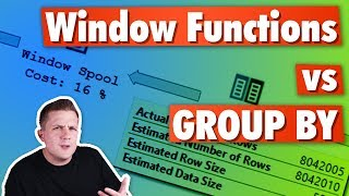 Window Functions Vs Group By