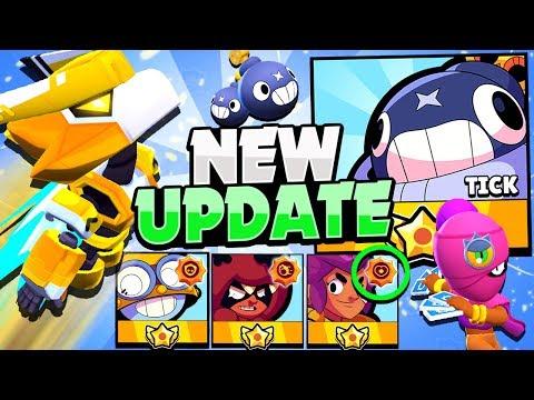 3 NEW Star Powers Gameplay! - STAR Shop Skins Prices! - New Brawler TICK & More! Brawl Stars Update!