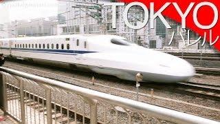 Superszybkie pociągi - Shinkansen [Tokio, Japonia] // A ride on the Shinkansen [Eng subs]