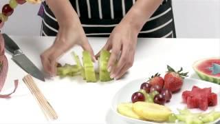 How to make an edible fruit centre piece