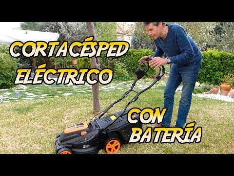 Cortacésped eléctrico con batería. Tacklife GLM4B. Análisis en español