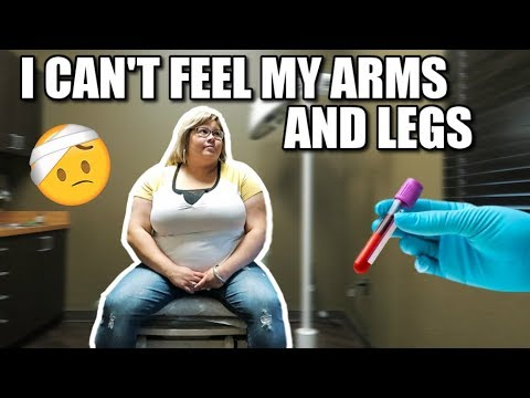 I CAN'T FEEL MY ARMS AND LEGS | DAILY FAMILY VLOGGERS