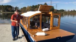 Building A 20 Ft. Trailerable Houseboat Part - 3