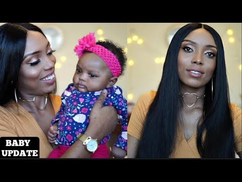 BEST AFFORDABLE STRAIGHT HAIR + BABY 2 MONTHS UPDATE | ASTERIA HAIR