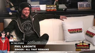 Phil Labonte from All That Remains - full interview