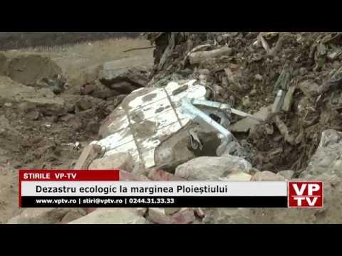 Dezastru ecologic la marginea Ploieștiului