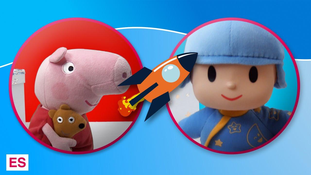 Peppa Pig y Pocoyó se hacen amigos en Tateti Toys