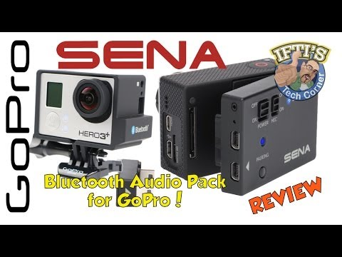 Sena Bluetooth Audio Pack for GoPro – Wireless Audio System! REVIEW