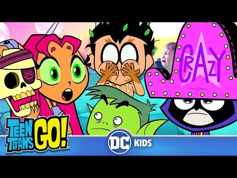 Teen Titans Go! | Crazy Day At The Titans Tower | DC Kids