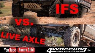 IFS vs LIVE AXLE, Off-road