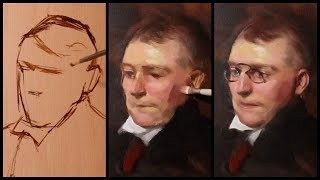 Portrait Painting Tutorial | John Singer Sargent Paint Along + A New Material