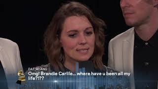 Brandi Carlile One-On-One Interview | 2019 GRAMMYs