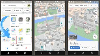 3D in Google Maps Default View on Mobile
