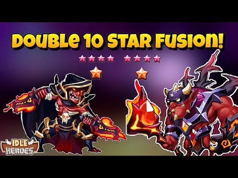 Idle Heroes - Double 10 Star Fusion! Blood Blade and Kroos