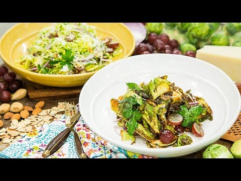 Recipe - Chef Antonia Lofaso's Charred Brussels Sprouts - Hallmark Channel