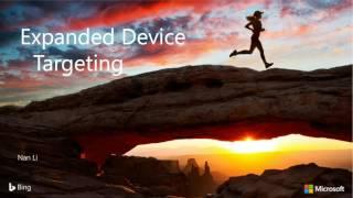 Bing Ads API Quarterly Call – September 2016