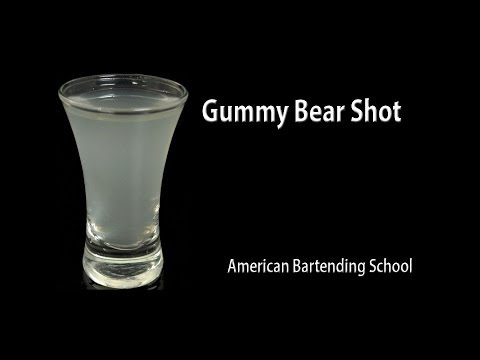 Gummy Bear Cocktail Drink Recipe