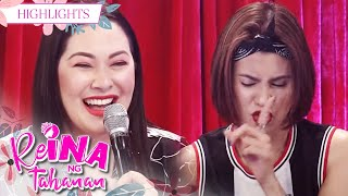 Ruffa gets distracted by Gelli's noise   It's Showtime Reina Ng Tahanan