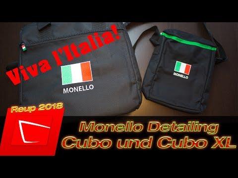 Monello Cubo Mini und XL Detailing Bag - Autopflege Transporttasche im Test