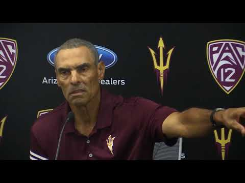 Herm Edwards ASU press conference (8/27/2018)