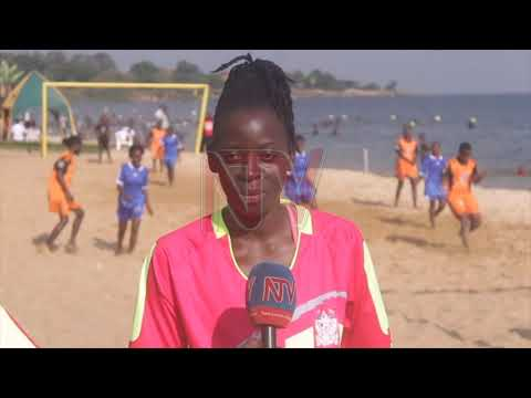 Seventh edition of women's beach soccer league starts in Entebbe