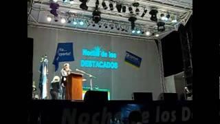 preview picture of video 'El Balcón de los Santos premiado en la Noche de los Destacados - Coronel Vidal, Marzo 2011'