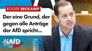Das Allzweck-Argument gegen AfD-Anträge – Roger Beckamp (AfD)