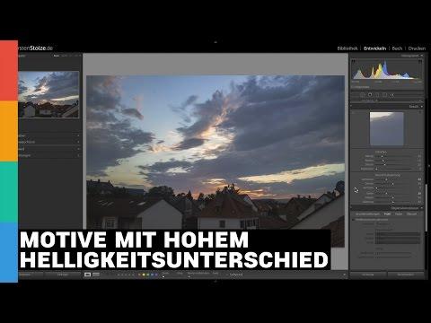 Motive mit hohem Helligkeitsunterschied ohne HDR und Verlaufsfilter fotografieren