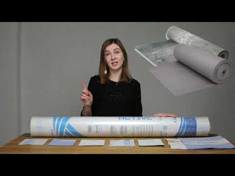 Гидроизоляционная мембрана G-TEX ACTIVE youtube