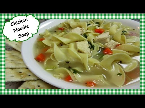 Video How to Make Easy Basic Chicken Noodle Soup ~ Healing Soup Recipe