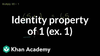 Identity Property of 1
